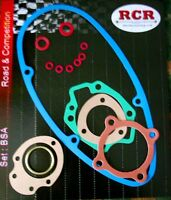 BSA BANTAM D5 D7 QUALITY GASKET SET NOW INCLUDES CARBURETTOR GASKETS A704 - D202