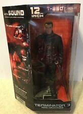 "Terminator T-3 Movie 12"" Electronic Figure Schwarzenegger NEW SEALED VARIANT"