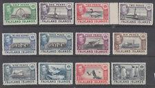 Falkland Islands 1938 part set MH