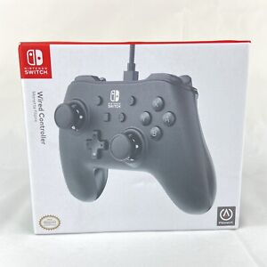 PowerA Nintendo Switch Wired Pro Controller Style Gamepad Black New