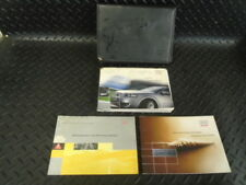 2003 AUDI A3 1.6 PETROL 3DR OWNERS MANUAL HANDBOOK & WALLET
