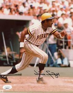 Willie Stargell Pittsburgh Pirates Autographed 8x10 Photo JSA RR92293