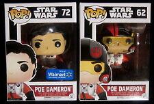 STAR WARS - Poe Dameron + Poe Without Helmet Ltd. - 2 Vinyl Figuren - Funko Pop!