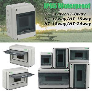 IP65 Waterproof Consumer Unit Modular Enclosure RCD MCB Contactor Switch Box New