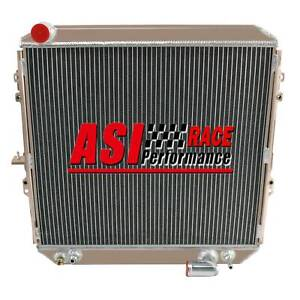 62MM 4 Core Aluminum Radiator For SURF HILUX 2.4/2.0 LN130 1988-1997 92 96 AT/MT