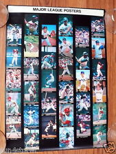 1968 Major League Baseball Players Sports Illustrated Catalog Order Poster
