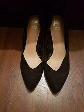 Black F&F suede like shoes