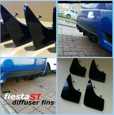 FORD FIESTA mk6 st/mk6 Zetec s/mk6 FIESTA 1.4/Diffuseur nageoires/pare-chocs nageoires ST mk6