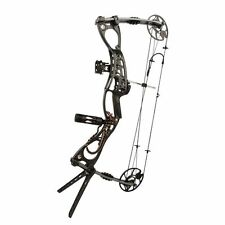 Black Archery Hunting Compound Bow Adjustable Right&Left Handed Bow 35-65lbs