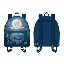 Loungefly Disney Peter Pan Second Star Glow In The Dark Mini Backpack  NWT