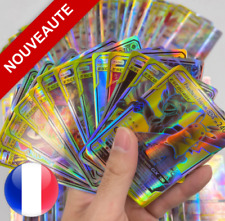 Lots de cartes Pokemon neuves GX ESCOUADE brillantes en français ideal enfants