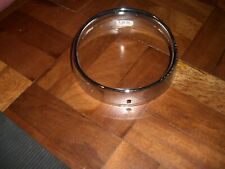 lambretta  series 2 head light chrome ring,cev new