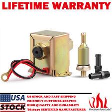 12V 2.5-4PSI Universal Fuel Pump Electric Inline Low Pressure Gas Diesel Petrol