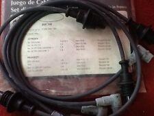 PEUGEOT 205 1600 309/405 TUTTI I TIPI SERIE FILI CAVI CANDELE motore XU5  1C