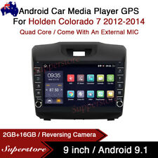 "9"" Android 9.1 Car Stereo Non-DVD GPS Head Unit For Holden Colorado 7 2012-2014"