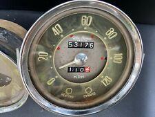 Alfa Romeo Guiletta 750 / 101 Normale Gauges -- Tach, Speedo, Fuel/Water/Oil