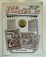 THE WRAPPER #100 1991 TERRIFIC NON-SPORT CARD COLLECTING MAGAZINE REFERENCE