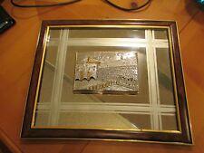 CREAZIONI ARTISTICHE made in Italy mirror with 3D silver scene of western wall