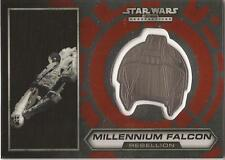 "Star Wars Chrome Perspectives - #12 of 30 Silver Helmet ""Millennium Falcon"""