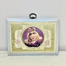 Vintage Hallmark Muppets Miss Piggy One In A Million Plaque Money Dollars