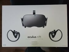 Oculus Rift CV1 Virtual Reality Headset with Controllers Sensors - Black