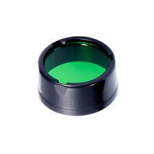 NiteCore NFG25 25.4mm Green Lens Filter Diffuser for SRT3 SRT5 EA1 EA2 EC1 EC2