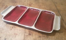 Define Recycled Aluminium Appetiser Tray (3 part)