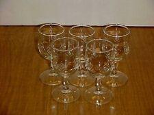 Javit Hand Cut Crystal 190-2 Pattern Wine Glass Set