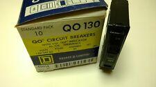 *NEW* SQUARE D CIRCUIT BREAKER QO130 130 30 AMP 1 POLE PLUG-ON