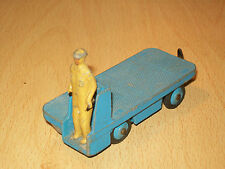 USED PLAYED CONDITION DINKY TOYS B.E.V.TRUCK WITH MAN BLUE