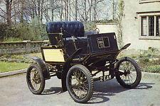 Postcard of 1901 LOCOMOBILE (STEAM) CAR. Cheddar Motor Museum (P3)