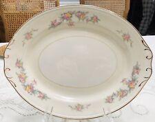Homer Laughlin Georgian Eggshell Oval Platter