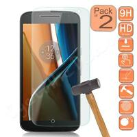 2x Gorilla Shield Tempered Glass Film Screen Protector for Motorola Moto G4 2016