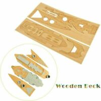 1/350 Scale Wooden Deck+Anchor Chain for Trumpeter 05302 HMS HOOD Model CY350007