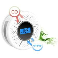 Combination Smoke and Carbon Monoxide Detector with Display, Battery Operated