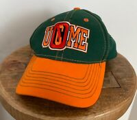 outlet store sale de755 47710 John Cena WWE Authentic Baseball Hat - Green Orange U Can t See Me