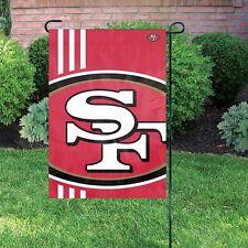 San Francisco 49ers NFL Bold Logo Mini Garden/Window Flag ~ NEW