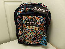 NEW JANSPORT Trans MegaHertz II Backpack Multi Color Swirl T30B07P