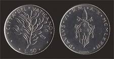 VATICANO 50 LIRE 1972 - PAOLO VI - FDC/UNC FIOR DI CONIO