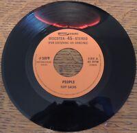 R&B Jazz Rhythm Tuff Sachs Seeburg 5019 45rpm Frug Boogie People R&B Rare Record
