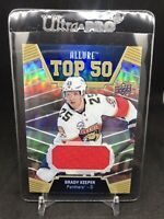 2019-20 Upper Deck Allure Brady Keeper Top 50 Jersey  Relics #T50-17 - Panthers