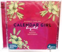 CALENDAR GIRL + Begehrt + Erotisches Hörbuch auf 2 CDs + 822 heiße Minuten +