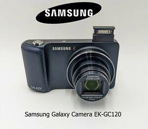 Samsung Galaxy Camera EK-GC120 16.0MP Digital Camera - Blue