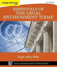 Cengage Advantage Books: Essentials of the Legal Environment Today 5th edition
