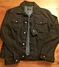 f2a2c2a94bd55 Mens Hugo Boss Denim Jacket Windham Slim Fit Medium With Tags Navy Blue