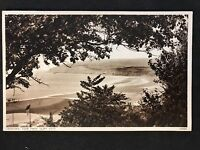 Vintage Postcard - Isle Of Wight #38 - RP Sandown, View From Cliff Path