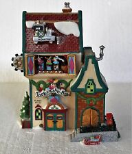 """Department 56, North Pole, """"Jack in the Box Plant 2"""""""
