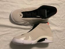 "2018 Nike Air Jordan 14 XIV Retro ""Desert Sand"" Mens SZ 11 NO BOX TOP 487471-021"