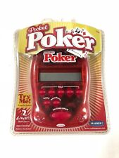 Pocket Poker Radica 2004 75005 Draw Poker & Deuces Wild Brand New