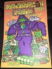 Dcon Designer Con 2017 Lagunitas Silk Screen Print Bigfoot In Hand Urban Art LE